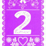Mexican Inspired Papel Picado Table Number additional 4