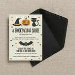 Spooktacular Personalised Halloween Party Invitation additional 3
