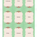 Vintage Trinkets Place Cards - Set of 9 additional 2