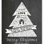 Chalkboard Personalised Christmas Cards additional 2