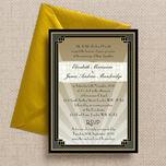 Art Deco Wedding Invitation additional 1