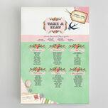 Vintage Trinkets Wedding Seating Plan additional 1