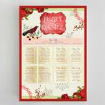 Winter Wonderland Wedding Seating Plan additional 2