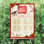 Winter Wonderland Wedding Seating Plan additional 1