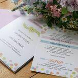 Candy Confetti Wedding Invitation additional 2