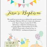 Farmyard Animals Christening / Baptism Invitation additional 4