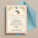 Jemima Puddle-Duck Christening / Baptism Invitation additional 1