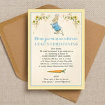 Peter Rabbit Christening / Baptism Invitation additional 3