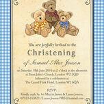 Teddy Bears' Picnic Christening / Baptism Invitation additional 5