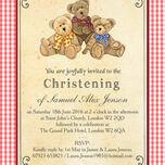 Teddy Bears' Picnic Christening / Baptism Invitation additional 4