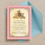 Teddy Bears' Picnic Christening / Baptism Invitation additional 2