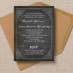 Chalkboard Wedding Invitation additional 1