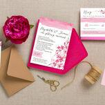 Cherry Blossom Wedding Invitation additional 2