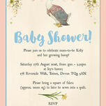 Jemima Puddle-Duck Baby Shower Invitation additional 3