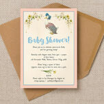 Jemima Puddle-Duck Baby Shower Invitation additional 1