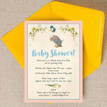 Jemima Puddle-Duck Baby Shower Invitation additional 2