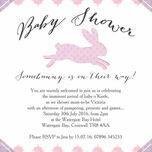 Pastel Bunny Baby Shower Invitation additional 3