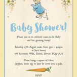 Peter Rabbit Baby Shower Invitation additional 3