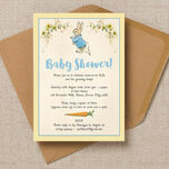Peter Rabbit Baby Shower Invitation additional 2