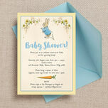 Peter Rabbit Baby Shower Invitation additional 1