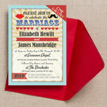 Circus Extravaganza Wedding Invitation additional 1