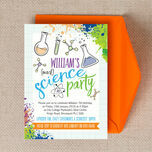 Mad Science Party Invitation additional 4