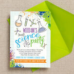 Mad Science Party Invitation additional 3
