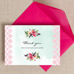 Watercolour Floral Thank You Cards additional 2