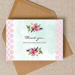 Watercolour Floral Thank You Cards additional 3