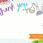 Mad Science Thank You Cards additional 5