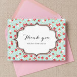 Vintage Rose Thank You Cards additional 1