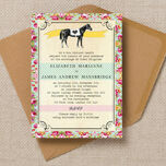 Day at the Races Wedding Invitation additional 1