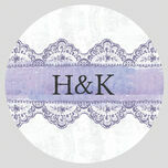 Lilac and Lavender Stickers - Sheet of 12 additional 2