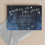 Midnight Stars Evening Reception Invitation additional 1