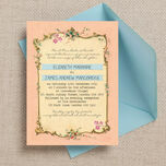 Pastel Pretty Wedding Invitation additional 1