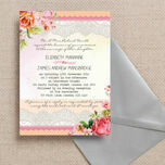 Pastel Watercolour Wedding Invitation additional 1