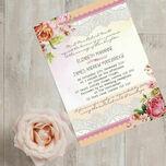 Pastel Watercolour Wedding Invitation additional 2