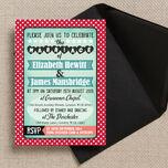 Rockabilly Retro Wedding Invitation additional 1