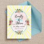 Spring Pastel Wedding Invitation additional 1