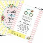 Spring Pastel Wedding Invitation additional 2