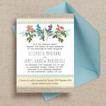 Rustic Botanical Wedding Invitation additional 1