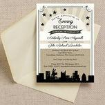 Vintage Hollywood Evening Reception Invitation additional 1