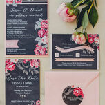 Rustic Floral Wedding Invitation additional 9
