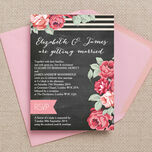 Rustic Floral Wedding Invitation additional 1