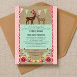 Rustic Woodland Wedding Invitation additional 1