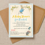 Peter Rabbit & Jemima Puddle Duck Baby Shower Invitation additional 1