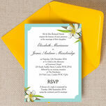 Tropical Beach Wedding Invitation additional 1