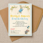 Peter Rabbit & Jemima Puddle Duck Party Invitation additional 1