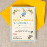 Peter Rabbit & Jemima Puddle Duck Party Invitation additional 3