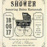 Vintage Pram Baby Shower Invitation additional 4